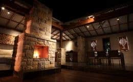 backyard-outdoor-living-area-stone-wall-fire-place-landscaping-gallary4